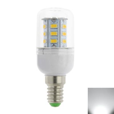 3W E14 220V  24LED-5730SMD 6000K Corn Bulb