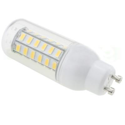 5730SMD 5.5W GU10 110V 6000K Clear LED Corn Bulb