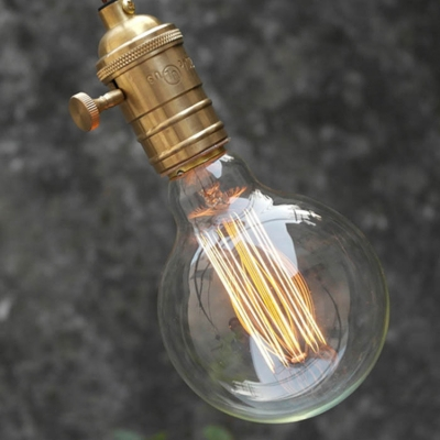80*120mm G80 220V  E27 40W Edison Bulb