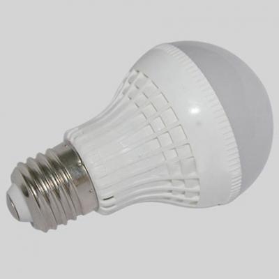 220V E27 3W 180° Warm White Lighted LED Globe Bulb