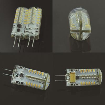 2W 12V 48-Leds Mini G4 Corn Bulb Yellow Light