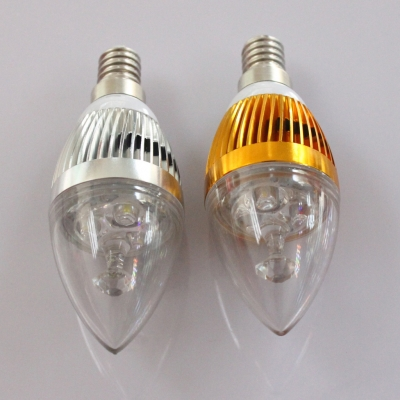 Golden E14 3W 180°240lm 6LED-5730SMD Warm White