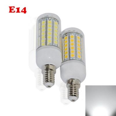 6000-7000K E14 6.5W LED Corn Bulb
