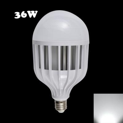 6000K 72Leds E14 36W LED Globe Bulb PC Material