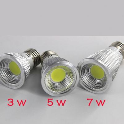 6000K E27 220V 7W 110lm LED COB Par  10Pcs