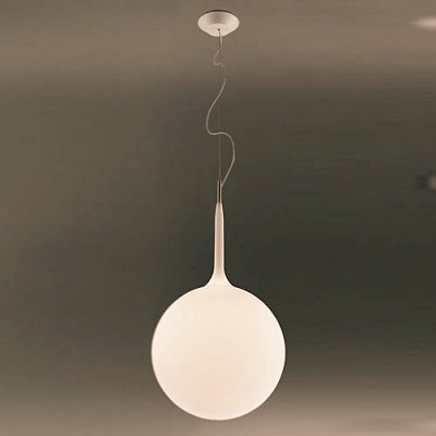 Round Globe Designer Pendant Lighting for Dining Room Soft and White