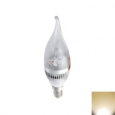 Warm White 220V E27 3W 180°240lm 6LED-5730SMD