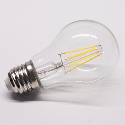 Yellow Light LED Edison Bulb Candle, E27 4W, 220-240V