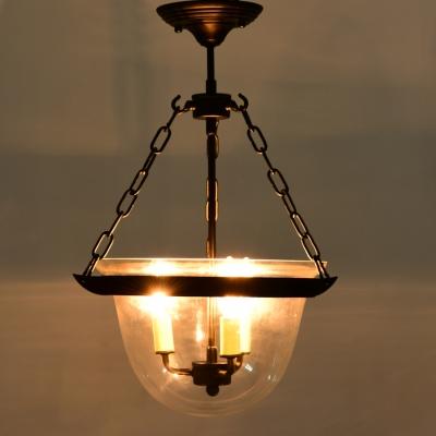 3 Light Black Glass Mini Urn LED Pendant & 3 Light Black Glass Mini Urn LED Pendant - Beautifulhalo.com