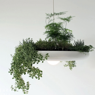 Grass Decoration Modern Designer White Pendant