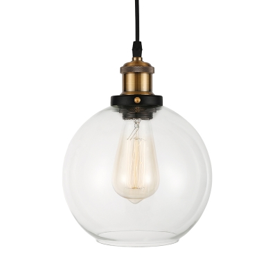 LED Mini Pendant Light with Clear Glass