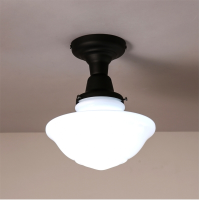 866 wide schoolhouse led ceiling light in black beautifulhalo 866 wide schoolhouse led ceiling light in black mozeypictures Images