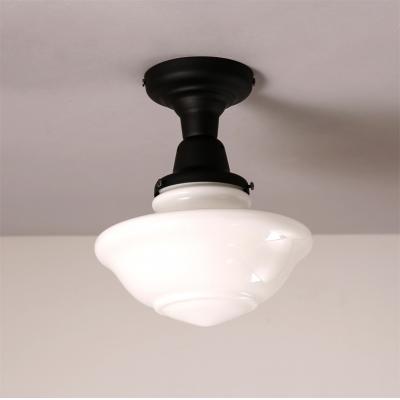 866 wide schoolhouse led ceiling light in black beautifulhalo 866 wide schoolhouse led ceiling light in black aloadofball Gallery