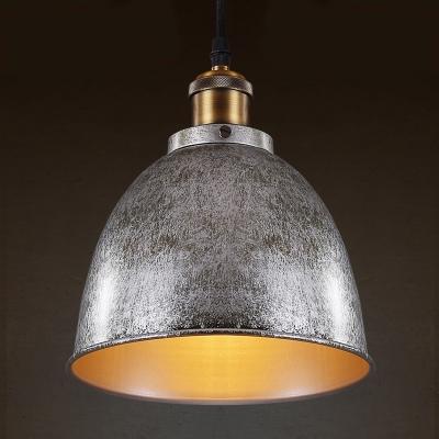 Baycheer / Gun Metal Grey 1 Light LED Pendant Light with Bowl Shade