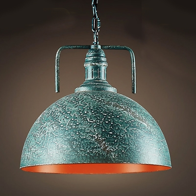 Green Galvanized Iron Single Light Down Lighting Barn