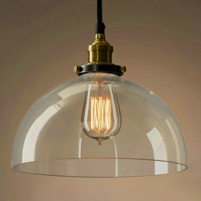 fashion style pendant lights brass industrial lighting