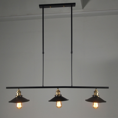 3 light kitchen led island pendant industrial style chandelier aloadofball Gallery