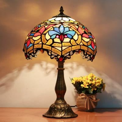 delicate pattern table lamp light tiffany dragonfly for sale lamps uk style