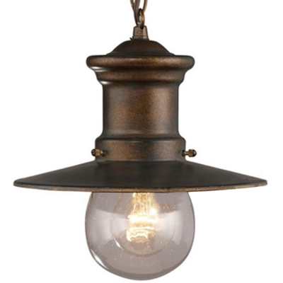 Nautical Style 1 Light Led Pendant Outdoor Lighting