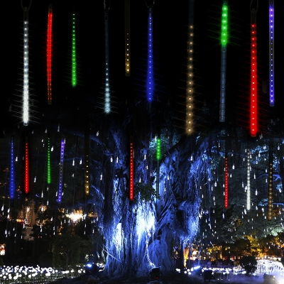 Multi color 180 leds beautiful bright hanging solar powered string multi color 180 leds beautiful bright hanging solar powered string lighting rope lighting aloadofball Images