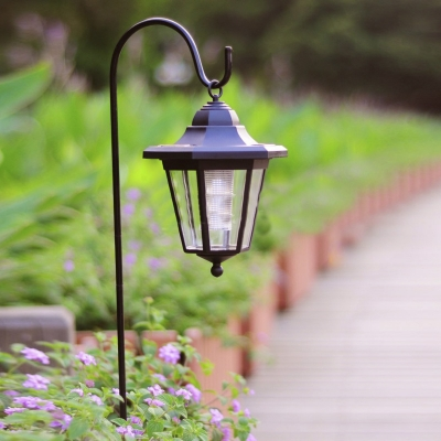 Light Sensor 26'' H  Solar LED Lantern Landscape Pathway Lighting