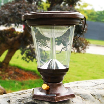 Adjustable Camping Tent Contingency Solar Powered LED Barn Lantern Lighting