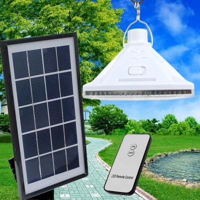 Small Solar Powered 25 LEDs Shed Light Tree Hanging Lamp