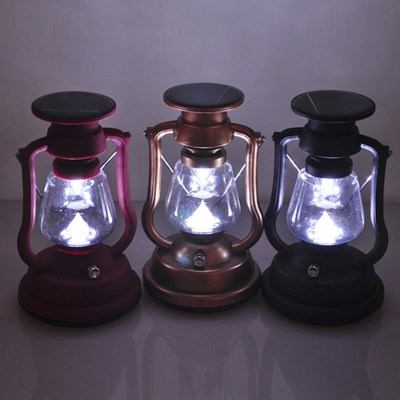 Solar Powered LED Camping Portable Decorative Lamp Chargeable
