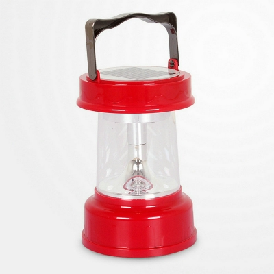 Charming Red Solar Powered Small Portable Emergency 8 LEDs Super Bright Outdoor Lighting