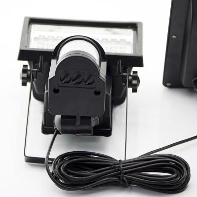 Smart Solar Powered Motion Sensor 60 LED Floodlight Security Lighting