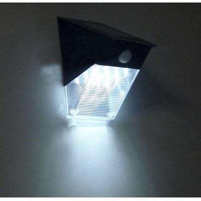 12-LED Solar Power Bright Step Light with Motion Sensor