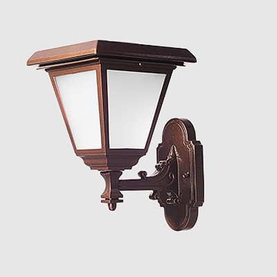 Super Bright Modern Wireless 12 Inches Height Solar Outdoor Led Wall Light