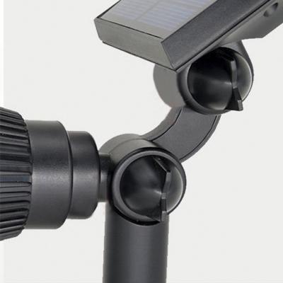 ABS Light Sensor 4 LED Outdoor Solar Power Spotlight