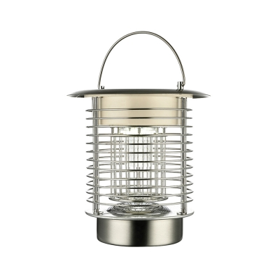 Solar Powered Portable Table Lamp Bug Killer Decorative Indoor Outdoor Landscape Lighting
