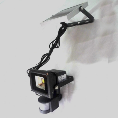 Motion Sensor Super Bight Outside Solar Powered LED Wall Mount Flood Lighting