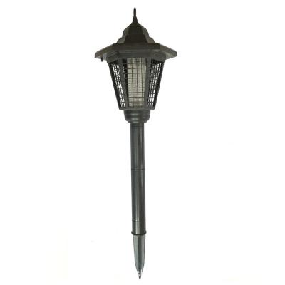 Solar Power 17'' H Garden Stake Bug Killer Outdoor Garden Path Light