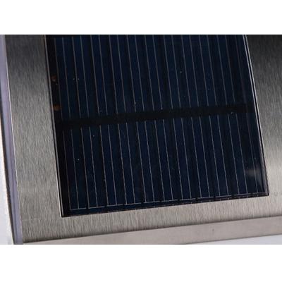 Stainless Steel 3-LED Solar Powered Step Light