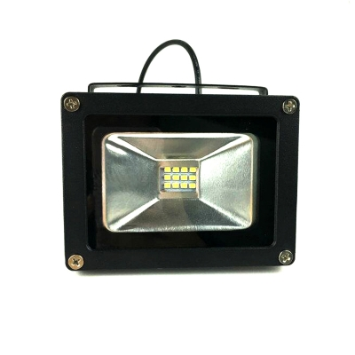 Solar Powered 12LED 6v Flood Light with Energetic Yellow Solar Panel