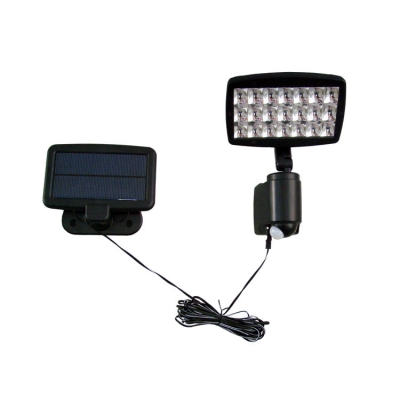 Solar Powered Flood Light Security Wall Mount with 21 Super Bright LEDs