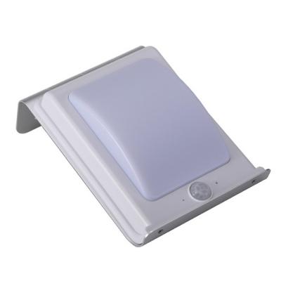 Aluminum 16 LED Solar Step Light with Light Sensor