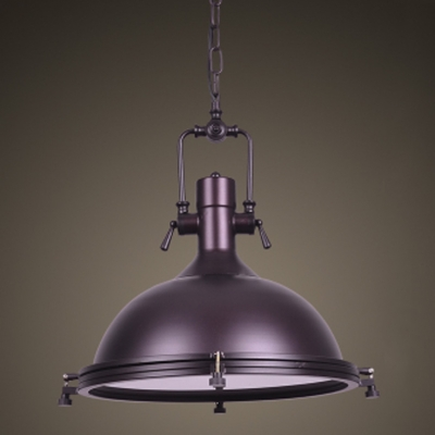 Fashion style pendant lights purple industrial lighting nautical led pendant light with frosted diffuser 18 wide aloadofball Choice Image