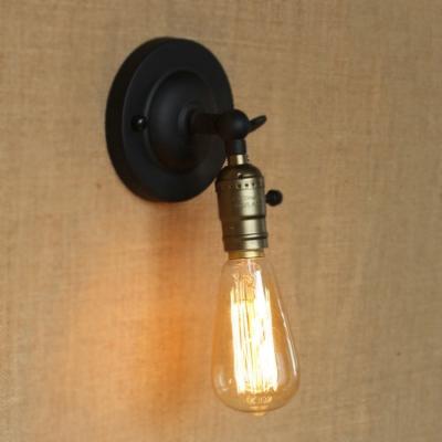 Vintage 1 Light LED Wall Sconce in Bronze