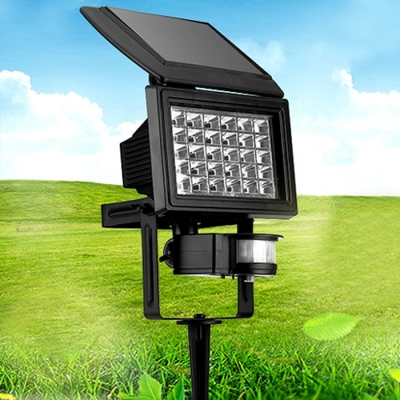 Smart Motion Sensor 30 LEDs Solar Powered Landscape Lawn Flood Lighting
