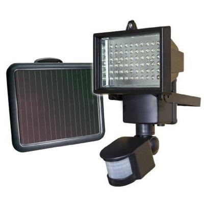 Super Bright 60 LEDs 9V Solar Powered Outside Garden Floodlight