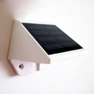 4 LED Plastic Solar Powered Step Lighting