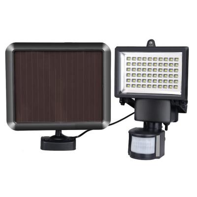 Motion Sensor 60 LED Super Bright Outdoor Flood Light Security Wall Mount