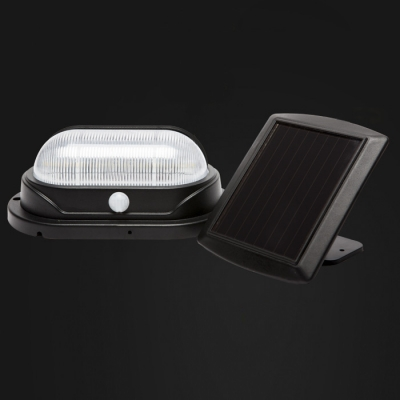 10-LED Solar Motion Sensor Super Bright Waterproof Outdoor Step Light with a Solar Panel