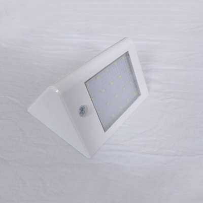 20 LED Solar Power Outdoor Motion Sensor Security Step Light