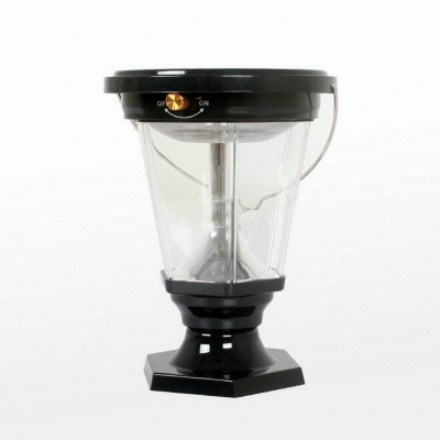 8'' Wide Solar Powered Outdoor Portable Lantern for Emergency