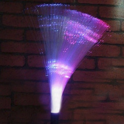 Solar Powered LED Decorative Garden Stake with Multi Color Lights